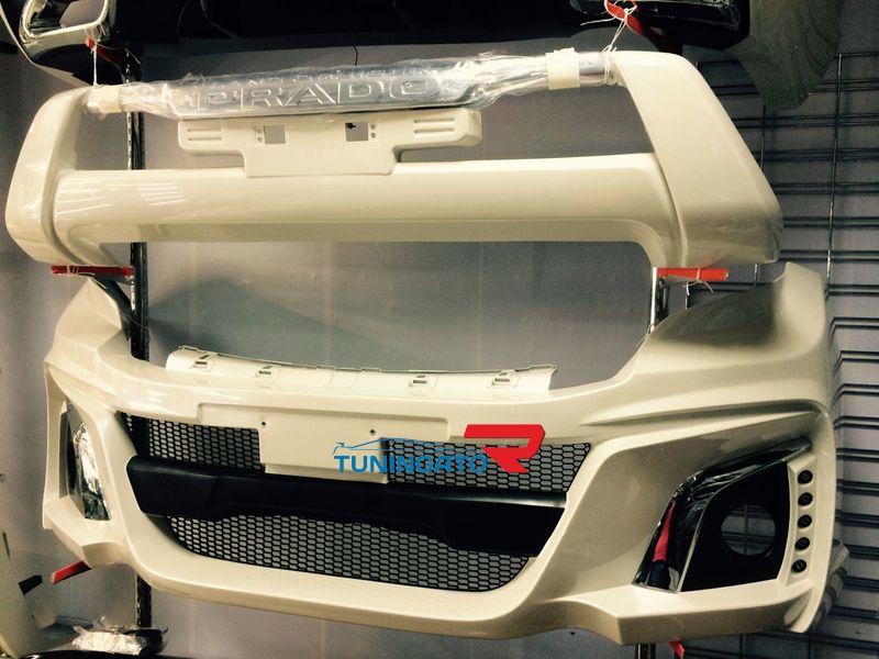 Аеродинамический обвес в стиле WALD для LC Prado 2013+