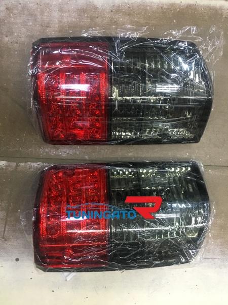 Стоп-сигналы (Хрустальные красно-серые светодиодные) NISSAN SAFARI / PATROL 89-97г.