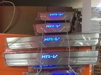 Накладки на пороги с подсветкой для Honda HR-V