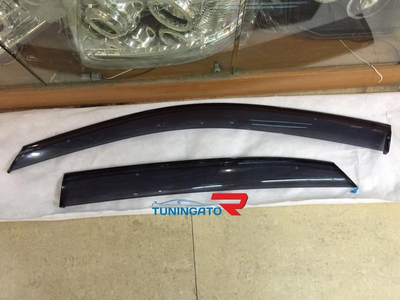 Ветровики дверные дымчатые для TOYOTA Lexus RX300\330\400 (02-09)
