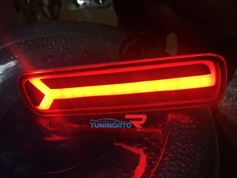 Светодиодные фонари в задний бампер NEW для LAND CRUISER 100