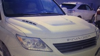 Тюнинговый капот Invader для Lexus LX570