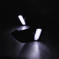 Окантовки туманок с ДХО Led для Honda FIT 2013+