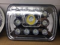 Фары диодные LED линзой, ближний\дальний свет для NISSAN DATSUN (89-96)