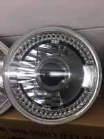 Фары линзовые с диодной подсветкой для Nissan Safari Y60