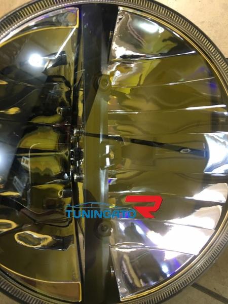 Фары диодные темные для MMC Pajero 87-95г.