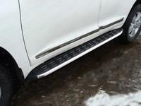 Пороги алюминиевые с пластиковой накладкой 1720 мм код TOYLC20015-13AL