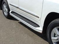 Защита порогов 42,4 мм (аналог Lexus LX570) код TOYLC20015-12