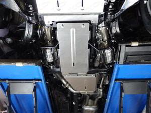 Защита КПП (алюминий) 4 мм код ZKTCC00036