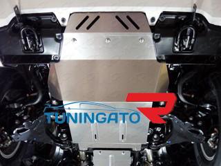 Защита радиатора (алюминий) 4 мм код ZKTCC00034
