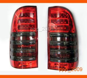 Стоп-сигналы (Тюнинговые Светодиодные красно-серые) для HILUX VIGO PICK UP 2005г