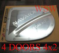 Хромированная накладка на крышку бензобака именная , США, для Nissan Navara 2005-