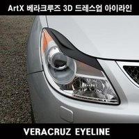 Реснички на фары для Hyundai ix-55