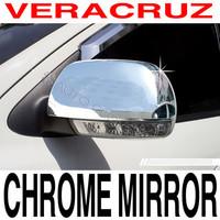 Хромированные накладки на зеркала заднего вида для Hyundai ix-55