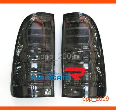 Стоп-сигналы (Тюнинговые Светодиодные, темные дымчатые) HILUX VIGO PICK UP 2005г