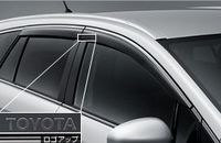 Ветровики на двери оригинал Япония для Toyota Avensis (2008г.-)