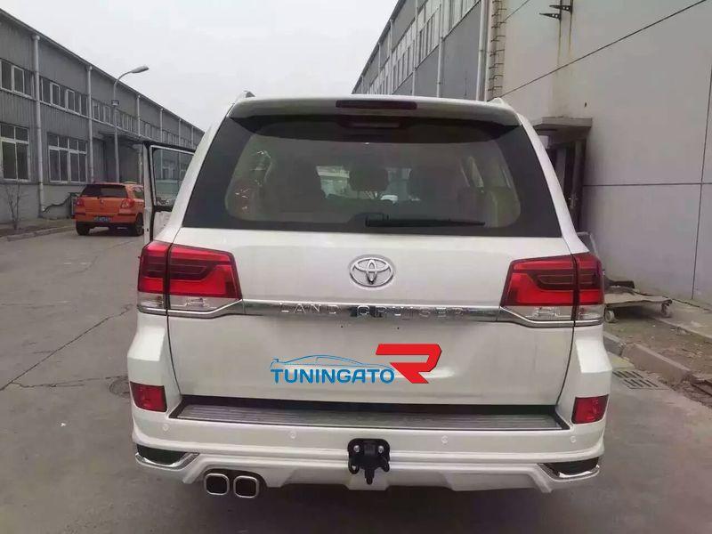 """Аэродинамический обвес """"Modellista"""" аналог для Toyota Land Cruiser 2015+"""