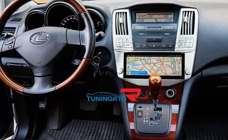Штатная магнитола Android для Toyota Harrier(Lexus) 2003-2008