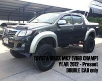 Расшерители колесных арок (фендера) Off Road для Toyota Hilux\ Vigo 2012г.