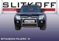 Кенгурятник низкий ф57 Mitsubishi Pajero IV Артикул: MPJ008