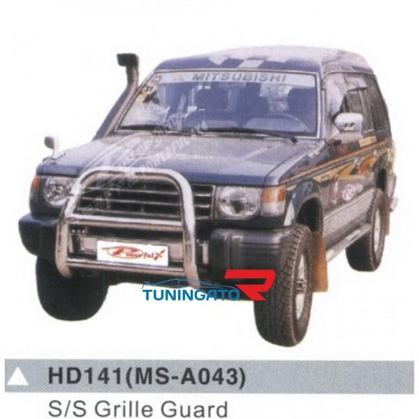 Кенгурин переднего бампера HD141 (MS-A043) для PAJERO / MONTERO 1990-99г.