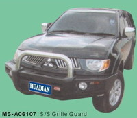 Бампер передний металлический MSA06107 MITSUBISHI TRITON 2007-15г
