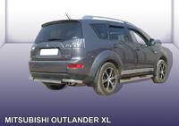 Уголки задние ф 57 Mitsubishi Outlander XL изображено вместе с защитой заднего бампера MXL011