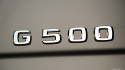Эмблема G500 для Mercedes