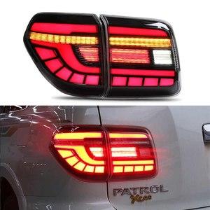 Фонари диодные для Nissan Patrol Y62 (с динамическим поворотником)