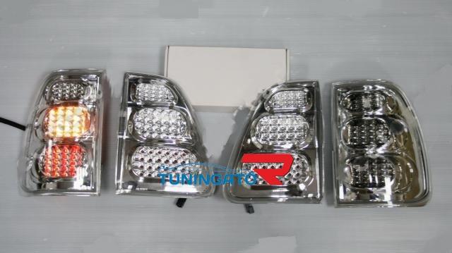 Стоп-сигналы (светодиодные прозрачные) для LAND CRUISER 100