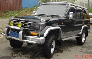 Кенгурятник передний PA004 TOYOTA LAND CRUISER PRADO 7X