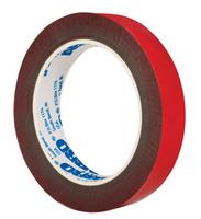 Лента клейкая двухсторонняя красная Премиум (6 мм х 5 м)