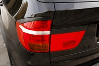 Накладки на задние фонари (реснички) BMW X5 (E70) 2007-