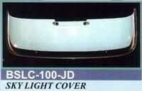 Спойлер люка (Широкий) BSLC 100-JD LAND CRUISER PRADO 120