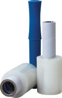 Стретч-плёнка для ручной обмотки 10 см х 20 мкм х 150 м (с пластиковой ручкой)