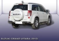 Уголки d57+d42 двойные Suzuki Grand Vitara (2012)