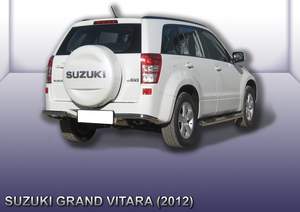 Уголки d57 Suzuki Grand Vitara (2012)
