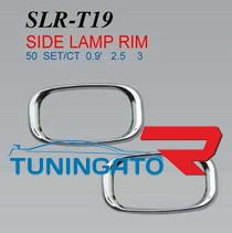 Хромированные накладки на поворотник крыла SLR-T19 HILUX SURF / 4RUNN