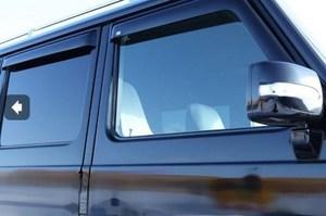 Ветровеки на двери Kanglong для Mercedes W463 G500