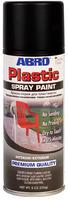 Краска-спрей для пластика (черный матовый)