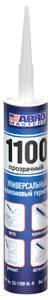 Герметик силиконовый 1100 ABRO MASTERS (прозрачный)