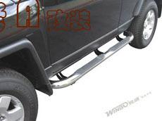 Подножки боковые на FJ Cruiser