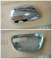 Хромированные накладки на зеркала заднего вида с вырезом под поворотники для HILUX VIGO PICK UP 2011г-