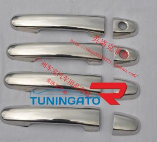Хромированные накладки на дверные ручки для HILUX VIGO PICK UP 2011г-