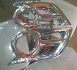 Хромированные накладки на туманки для HILUX VIGO PICK UP 2011г-