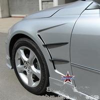 Тюнинговые крылья Тип1, пластиковые, 2шт. Япония для Toyota Mark X (05-08г.)