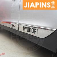 Хромированные молдинги на двери на Hyundai ix35
