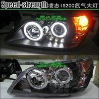 Тюнинговые фары , ангельские глазки с диодами на Toyota Altezza \ IS200
