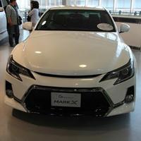 Аеродинамический обвес в стиле GS для Toyota Mark X 2013г.+