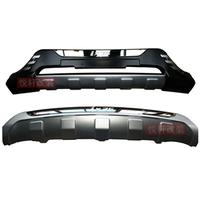 Обвес пластиковые накладки на передний и задний бампер комплект ix35